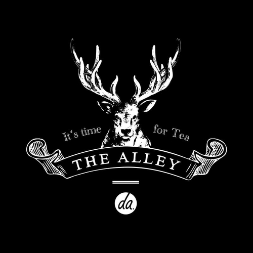 The Alley tea room in Singapore.