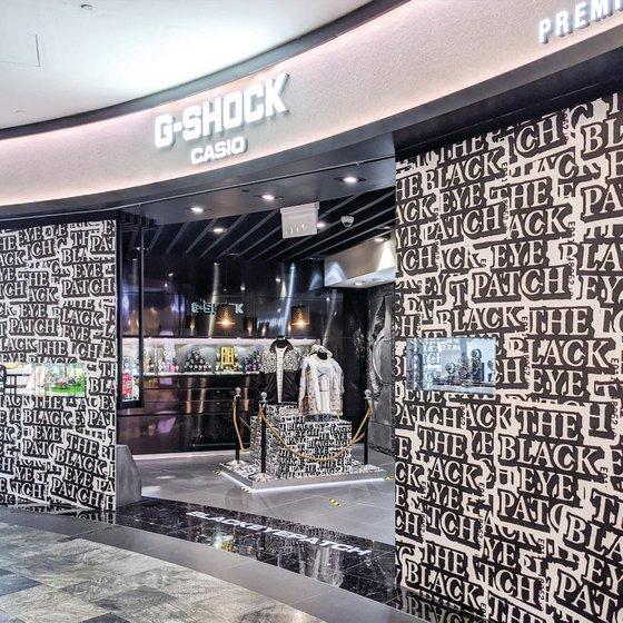 Casio G-SHOCK Shop in Singapore - Marina Bay Sands.