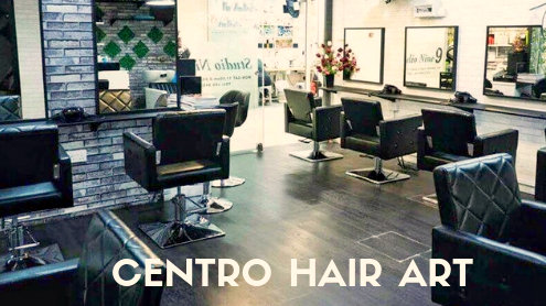 Centro Hair Art salon at Far East Plaza mall in Singapore.