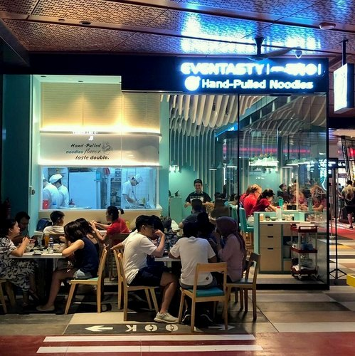 Eventasty Noodle Bar in Singapore - Funan Mall.