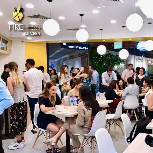 Fireless Kitchen restaurant at Funan mall in Singapore.