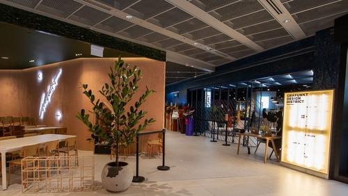 Grafunkt furniture store at Funan mall in Singapore.