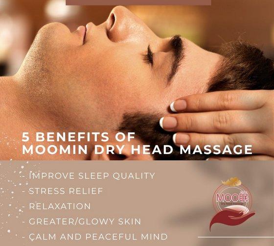 Japanese Dry Head Massage in Singapore - Moomin.