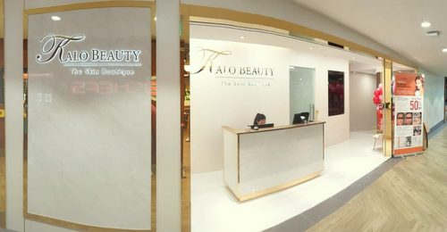 Kalo Beauty salon at Northpoint City shopping centre in Singapore.