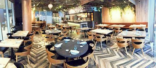 La Cala Mediterranean restaurant at DUO Galleria mall in Singapore.
