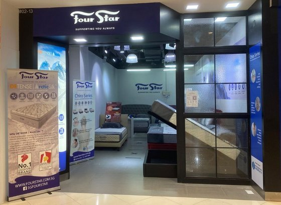 Mattress Shop in Singapore - Four Star Lot One.