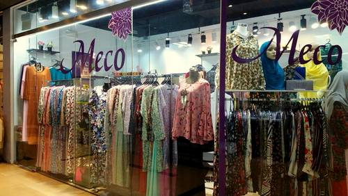 Meco Designs clothing shop at East Village in Singapore.