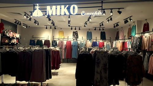 Miko Concepts clothing store in Singapore.