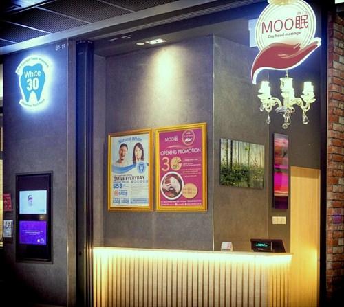 Moomin - Dry Head Massage in Singapore - Funan Mall.