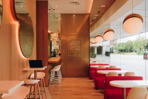 Nayuki bakery cafe at VivoCity mall in Singapore.