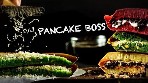 Pancake Boss' Martabak Manis pancakes, available in Singapore.