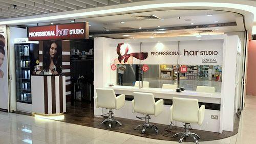 Professional Hair Studio salon in Singapore.