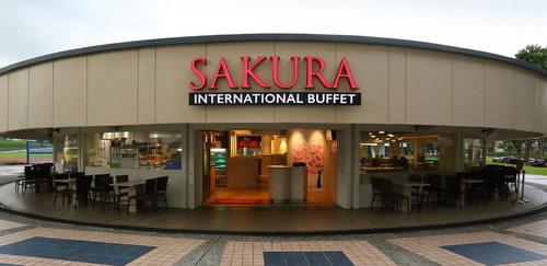 Sakura International Buffet restaurant at Yio Chu Kang Stadium in Singapore.