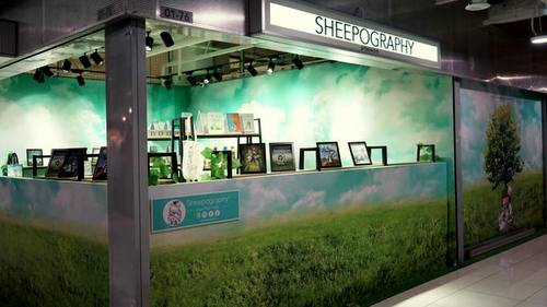 Sheepography store at Far East Plaza mall in Singapore.