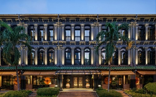 Six Senses Duxton hotel in Singapore.