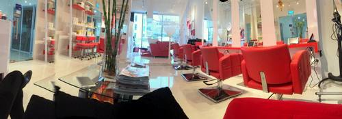 Steve V Hair & Nail Studio in Singapore.