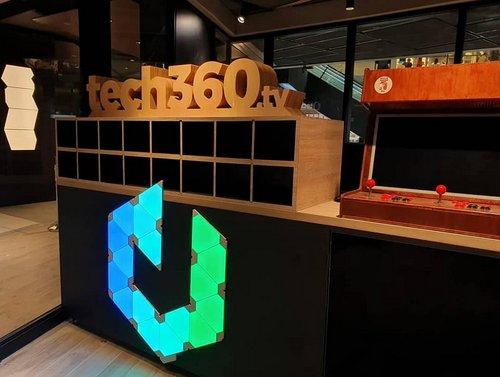 Tech360.tv studio at Funan mall in Singapore.