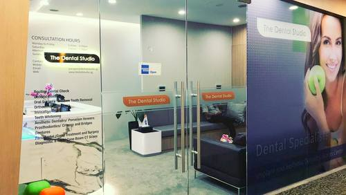 The Dental Studio dental clinic in Singapore.