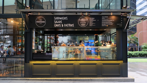 The Providore cafe in Singapore - Raffles Place.