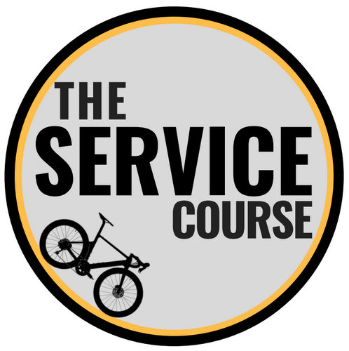 The Service Course bicycle repair shop at OUE Downtown Gallery in Singapore.