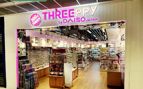Threeppy shop at Funan mall in Singapore.