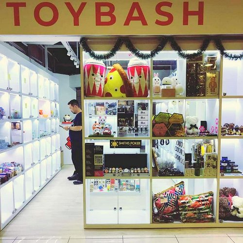 Toy Bash store at Far East Plaza mall in Singapore.