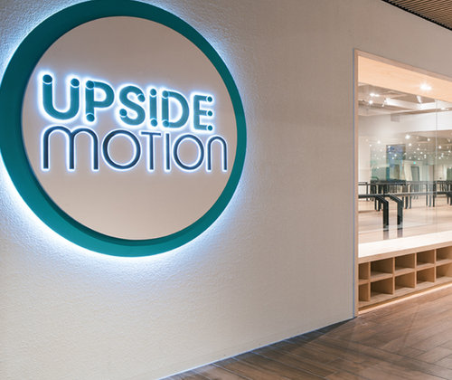 Upside Motion fitness studio in Singapore.