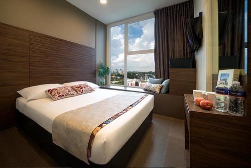 Value Hotel Thomson's Superior Room in Singapore.