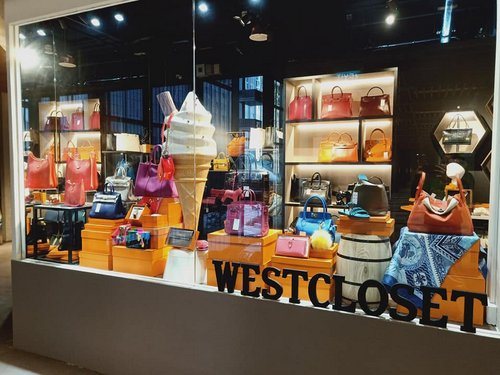 WestCloset shop at OUE Downtown Gallery mall in Singapore.
