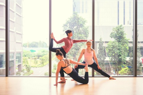 Wings To Wings dance and fitness studio in Singapore.