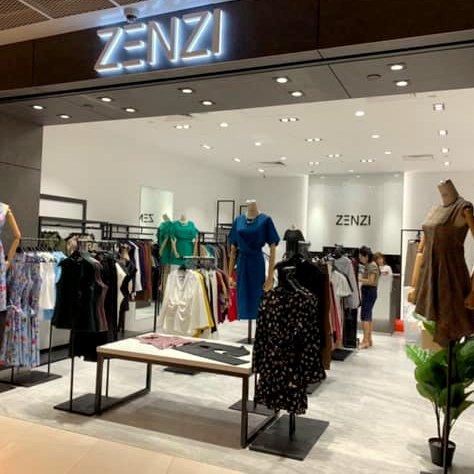 ZENZI clothing store at Funan mall in Singapore.
