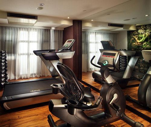 24-hour fitness centre at Hotel Clover 33 Jalan Sultan Singapore.