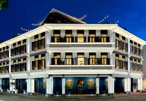Ann Siang House boutique hotel in Singapore.