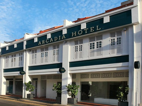 Arcadia Hotel Singapore.