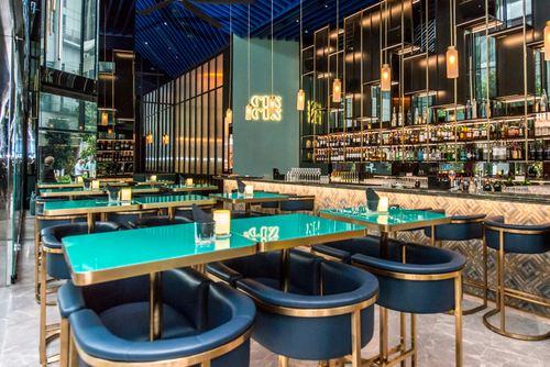 Cin Cin Bar at Oasia Hotel Downtown Singapore.