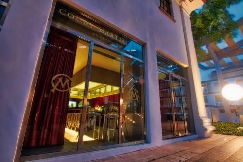 Court Martial Bar at JW Marriott Hotel Singapore South Beach.