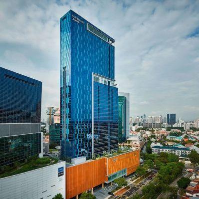 Courtyard by Marriott Singapore Novena hotel.