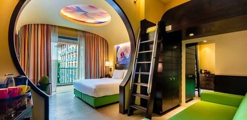 Deluxe Family King Room at Festive Hotel in Singapore.