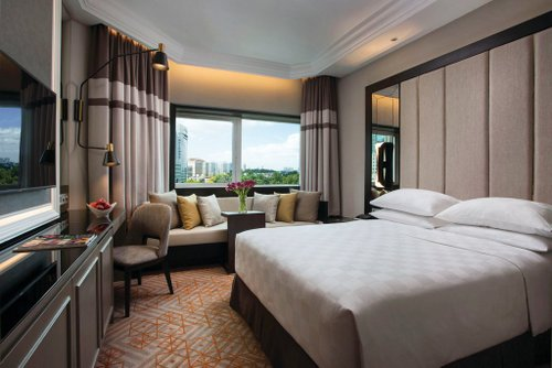 Deluxe Queen Room at Orchard Hotel Singapore.