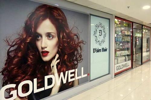 D'sire hair salon at Far East Plaza mall in Singapore.