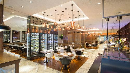 Element Restaurant at Amara Singapore Hotel.