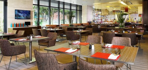 Escape restaurant at One Farrer Hotel in Singapore.