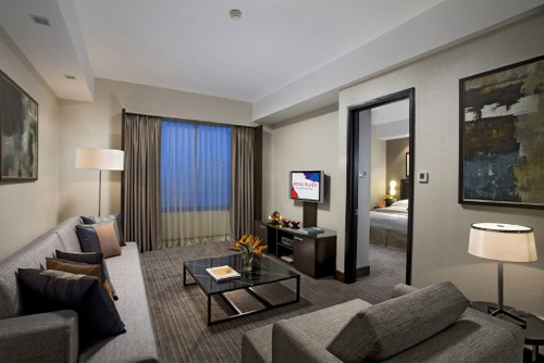 Executive Suite at Royal Plaza on Scotts Hotel in Singapore.