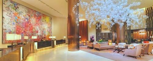 Fairmont Singapore hotel.