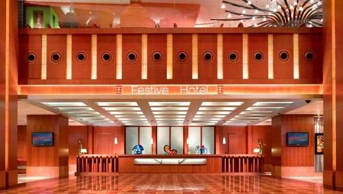 Festive Hotel at Resorts World Sentosa Singapore.