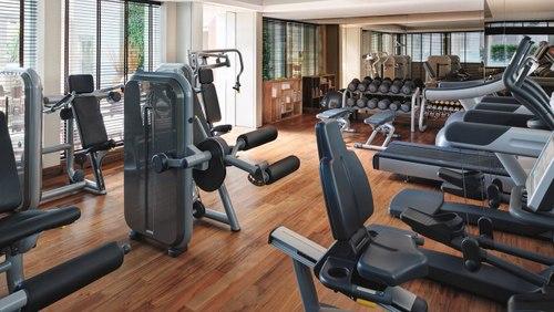 Fitness centre at Le Méridien Singapore, Sentosa.