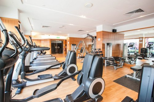 Fitness centre at Orchard Hotel Singapore.