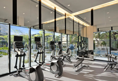 Fitness centre at Ramada by Wyndham Singapore at Zhongshan Park.