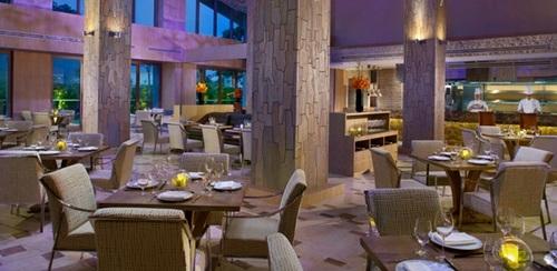 Forest restaurant at Resorts World Sentosa - Equarius Hotel in Singapore.