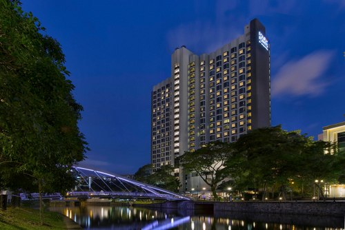 Four Points by Sheraton Singapore, Riverview hotel.